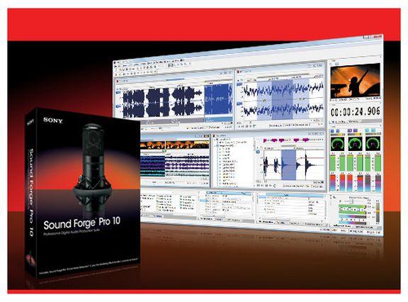 Sony Sound Forge Pro 10.
